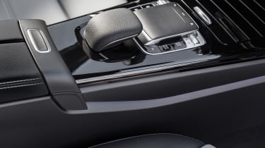New Mercedes A-Class - centre console