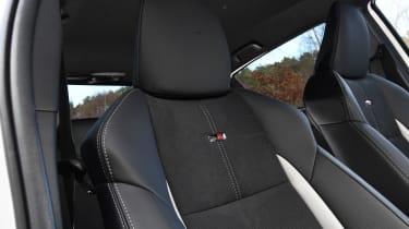 Toyota Yaris GR Sport - seat detail