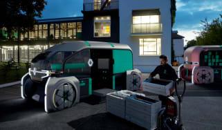 Renault EZ-PRO concept vehicle