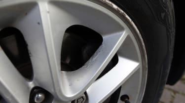 Used Hyundai i30 - wheel damage