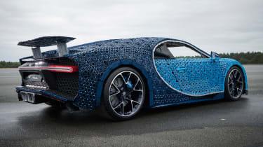 Lego Bugatti Chiron - rear