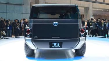 Toyota Tj Cruiser concept - Tokyo full rear