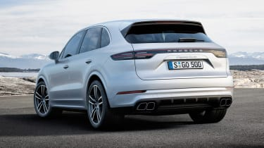 Porsche Cayenne Turbo - rear static