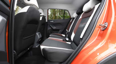 Volkswagen T-Cross - rear seats