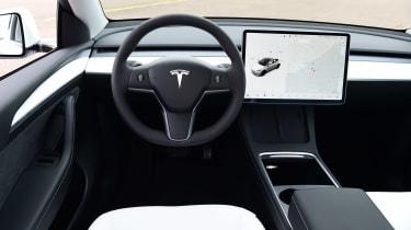 Tesla Model Y - dash