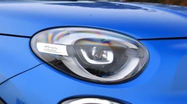 Fiat 500X - front light