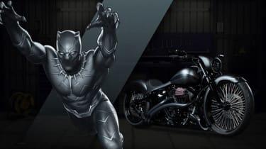 Harley Davidson Marvel Super Hero Customs - Black Panther Pride