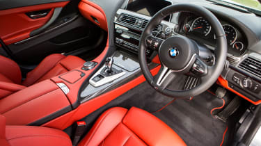BMW M6 Gran Coupe - interior
