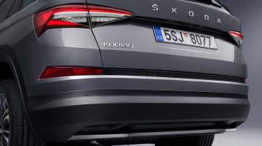 Skoda Kodiaq facelift - rear detail