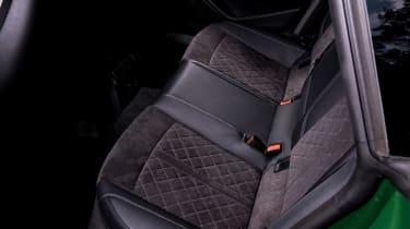 Audi RS 5 Sportback rear seat