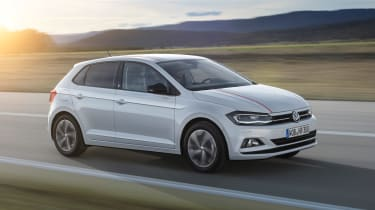 New Volkswagen Polo Beats - front tracking