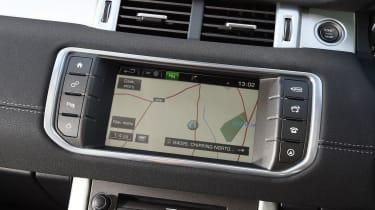 Range Rover Evoque SE Tech 2016 - screen