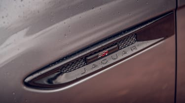 Jaguar F-Pace Chequered Flag - side badge