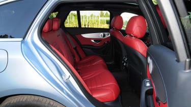 Mercedes C250 BlueTEC Estate AMG Line rear seats