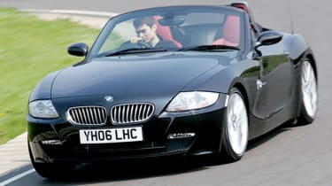 Front view of BMW Z4 3.0si Sport