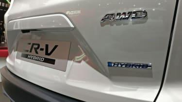 Honda CR-V Hybrid - Paris - Badge