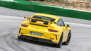 Porsche 911 GT3 - rear track cornering