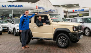 Suzuki Jimny - long term test - Batch with dealer