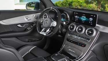 Mercedes-AMG GLC 63 - dash