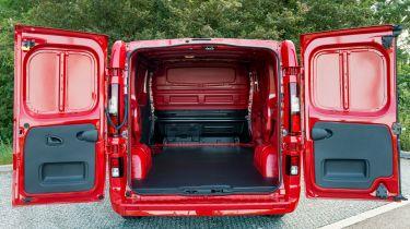 Vauxhall Vivaro rear doors