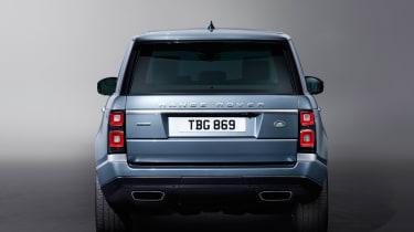 Updated Range Rover - full rear static