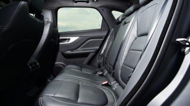 Jaguar F-Pace first drive - rear seats