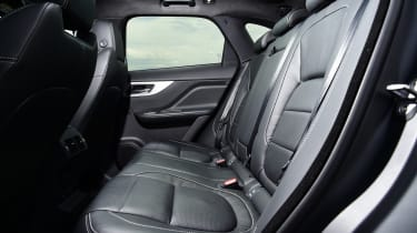 Jaguar F-Pace first drive - rear seats