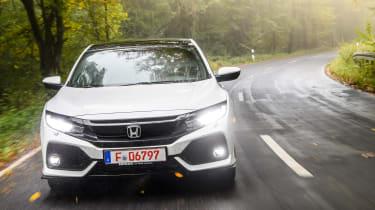 Honda Civic 2016 prototype - front tracking 2