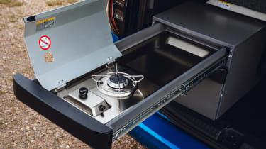 Volkswagen Caddy California MPV - cooker
