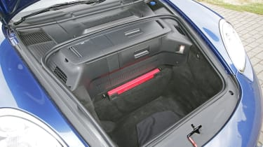 Used Porsche Boxster - front boot