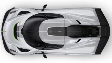 Koenigsegg Jesko roof