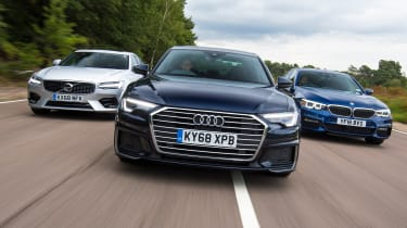 Audi A6 vs BMW 5 Series vs Volvo S90 - Header