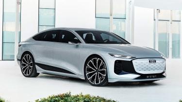 Audi A6 e-tron concept - side/front