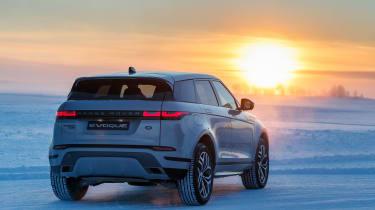 Range Rover Evoque prototype - sunset