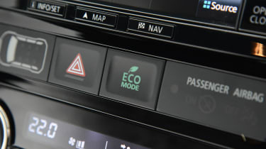 Mitsubishi Outlander - buttons