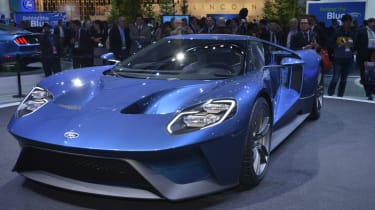 New Ford GT Detroit picture 4