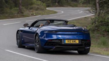 Aston Martin DBS Superleggera Volante - rear cornering