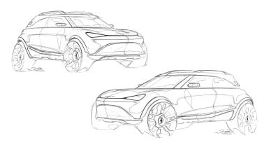 Smart SUV - sketches