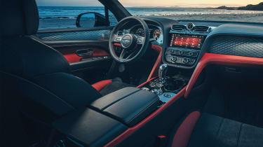 Bentley Bentayga S - dash