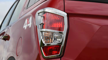 SsangYong Musso long term review - brake light