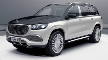 Mercedes-Maybach GLS - front studio