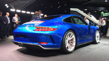 Porsche 911 GT3 Touring Frankfurt rear
