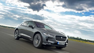 Jaguar I-Pace - front action