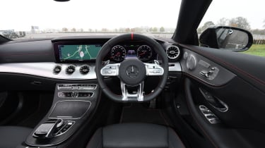 mercedes amg e53 coupe interior