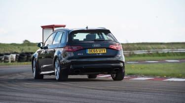 Audi RS3 group - rear cornering