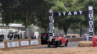 Goodwood Festival of Speed - start line