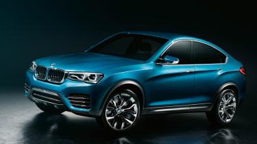 BMW Concept X4 front three-quarters