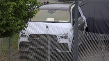 Mercedes GLE spied 2018 camo