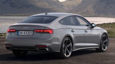 2019 Audi A5 Sportback - rear 3/4 static