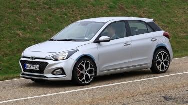Hyundai i20 N - spyshot 3